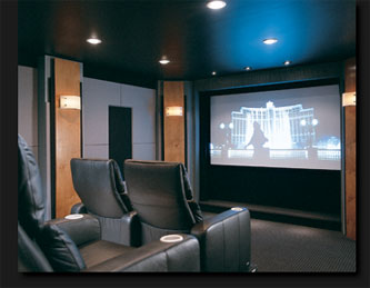 Small Room Home Theater